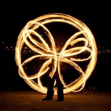 Огненное шоу – изюминка свадебной программы
